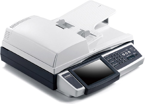 Image scanner with ADF (Automatic Document Feeder)